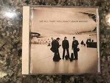 U2 All That You Cant Leave Behind Cd! Also See Cold Play & Bruce Springsteen