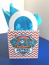 12 DISNEY PAW PATROL BIRTHDAY Party Favor LOOT Treat BOXES/ BAGS