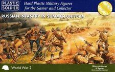 Plastic Soldier WW2028001 - Russian Infantry En Summer Uniform - 28mm