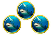 Shark Marqueurs de Balles de Golf