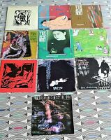 """10 X Siouxsie & The Banshees/The Creatures 7"""" Singles. All Picture Sleeves"""