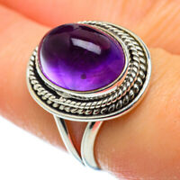 Amethyst 925 Sterling Silver Ring Size 7.5 Ana Co Jewelry R48717F