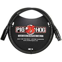 Pig Hog PHM3 8mm Microphone XLR Cable 3ft