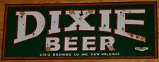 "TIN SIGN ""Dixie Beer"" Bar Garage New Orleans Mancave Wall Decor"