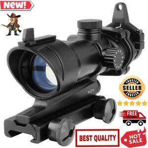 2.5-10X40 Riflescope Red Green Mil-dot Crosshair Air Gun Hunting Scope Red Laser