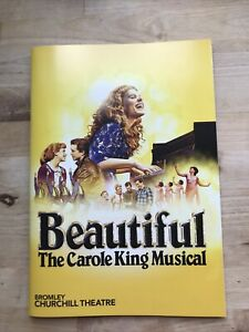 Bromley Theatre Programme Beautiful Carole King Musical Laura Baldwin Daisy Wood