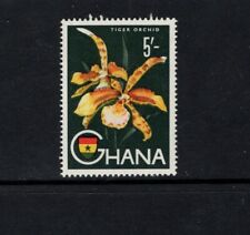 Ghana 1959 5s Tiger Orchid Flower MNH Sc 59 SG 224