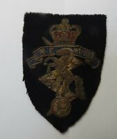 1950's REME Royal Electrical & Mechanical Engineers Bullion Cloth badge
