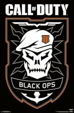 CALL OF DUTY - BLACK OPS 4 - LOGO POSTER 22x34 - VIDEO GAME 16948