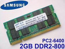 2GB DDR2-800 PC2-6400 SAMSUNG M470T5663RZ3-CF7 800Mhz LAPTOP RAM ARBEITSSPEICHER