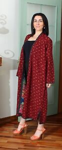 "58.27"" x 44.88"" Dress Uzbek Robe VINTAGE FAST Shipment With UPS 11377"