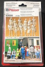 Preiser Passengers and Passers-by 63000 NEW 1/32 Model 'Sullys Hobbies'