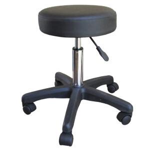 Salon sgabello Salone di massaggio Sedia con schienale regolabile professionale girevole ergonomica Sgabello for Office saloni manicure tatuaggio di terapia di massaggio di bellezza salone della stazi