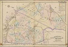 1913 FORT LEE LEONIA BERGEN COUNTY NEW JERSEY CHURCH OF THE MADONNA ATLAS MAP