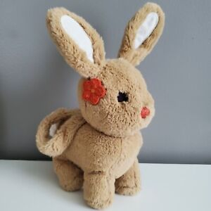 """Gymboree All About Buttons Plush Bunny Purse Hard To Find 10"""" Height kfp1"""