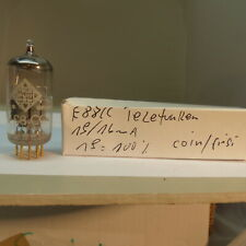 1x Telefunken CCA E88CC Coin Bottom first Version 50th RÖHRE Tube NOS Holy Grail