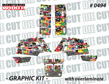 *NEW* RACING ATV QUAD BANSHEE COMPLETE GRAPHICS KIT STICKERS 350 0494