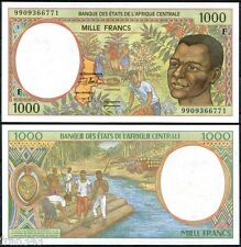 CENTRAL AFRICAN STATES REPUBLIC 1000 Francs 1999  Pick  302 Ff   SC / UNC