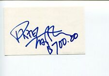 Dweezil Zappa Rock Guitarist Son Of Frank Zappa Signed Autograph