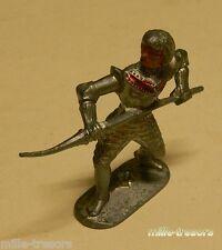 Ancienne Figurine W. GERMANY : CHEVALIER MOYEN AGE avec LANCE - Modèle 8