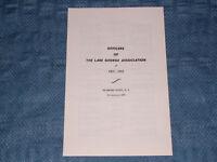 1963-64 OFFICERS LAKE GEORGE NY ASSOCIATION DIAMOND PT
