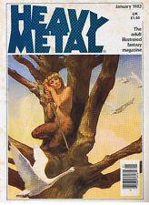 HEAVY METAL ILLUSTRATED FANTASY MAG VOL. VI N° 10 JANUARY 1983 GOOD CONDITION