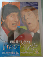 Francie And Josie THE DELECTABLE DUO LIVE IN GLASGOW NEW SEALED R2 DVD RARE