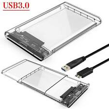 2.5 In USB 3.0 External SATA I/II/lll HDD/SSD Hard Drive Enclosure Caddy Case