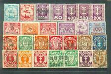 Lot Briefmarken aus dem ehemaligen Danzig