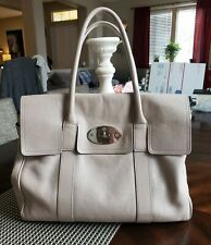 AUTHENTIC STUNNING MULBERRY HERITAGE BAYSWATER IN NEUTRAL MUTED GREY