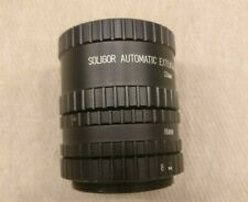 """Soligor Automatic extension tube for """"P"""" Pentax  (8, 16 & 32mm)"""