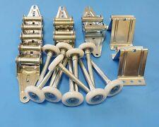 Garage Door Kit 18 Gauge standard Duty - 9x7 or 8x7-Rollers,Hinges,Brackets