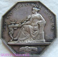 MED4239 - JETON NOTAIRES DE L'ARRONDISSEMENT DE BORDEAUX  (1860-1879)