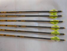 "6 Gold Tip Hunter Pro 340 Carbon Arrows! 2"" Blazer Vane 7595 WILL CUT TO LENGTH!"
