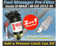 Provent Companion Pre Filter Dual Bracket Kit for Isuzu D-MAX 4JJ1-TCX 2012-16
