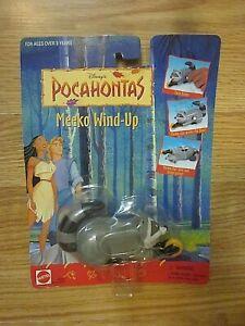 Disney's POCAHONTAS Collectible Figure Meeko Wind Up Mattel 66564
