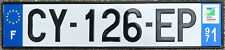 🌟😊🌟 CARIBBEAN-FRANCE OVERSEAS 2010's GUADELOUPE LICENSE PLATE.
