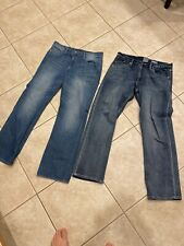 MENS ROCK REPUBLIC Neil R510297 Relaxed R510521 JEANS LOT sz 34x32 2 Pairs Lot