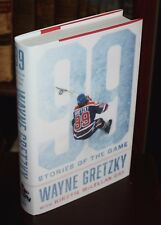 99 Stories of the Game by Wayne Gretzky [PERSONALLY SIGNED 1st Printing]