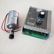 Cnc 48vdc 200w Air Cooled Spindle Kitwith Power Supply Speed Governor