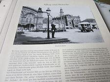 Bremen Archiv 6 Alltag 6105 Straßenverher 1930 vor Hauptbahnhof Bremen