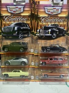 Matchbox Cadillac 5 Car Set (CTS, Series 62, Escalade, Ambulance & 2 Others) New