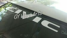 Honda Civic JDM Decal Windshield Banner Stickers