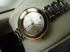 Anne Klein AK/2119SVTT Diamond 2 Tone Gold Silver Bracelet Women's Watch