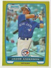 Jacob Anderson 2012 Bowman Chrome Prospect GOLD Refractor #'d 41/50 - BLUE JAYS