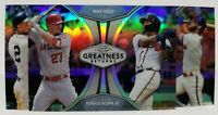 2019 Topps Chrome Greatness Returns Singles You Pick & Complete Your Set