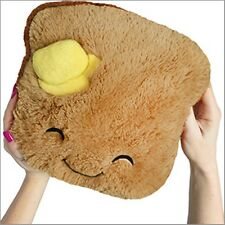 "SQUISHABLE Plush Mini Toast 7"" stuffed animal AMAZINGLY SOFT"