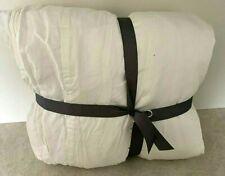 Pottery Barn Tencel KING duvet cover WHITE