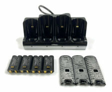 Wii Nyko Controller Charge Station Quad Black Dock Controller Batteries Cover