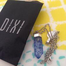 Quartz Crystal Chain Costume Necklaces & Pendants
